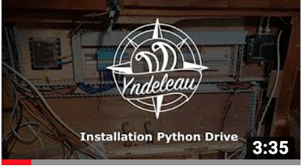 Installation of Python Drive