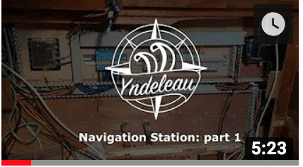 Navigation station part 1: new electric installation